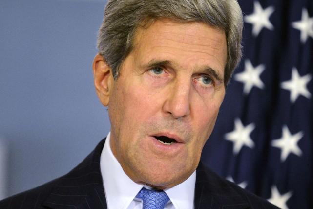 Le secrétaire d'État américain John Kerry va plaider... (Photo Mike Theiler, Reuters)