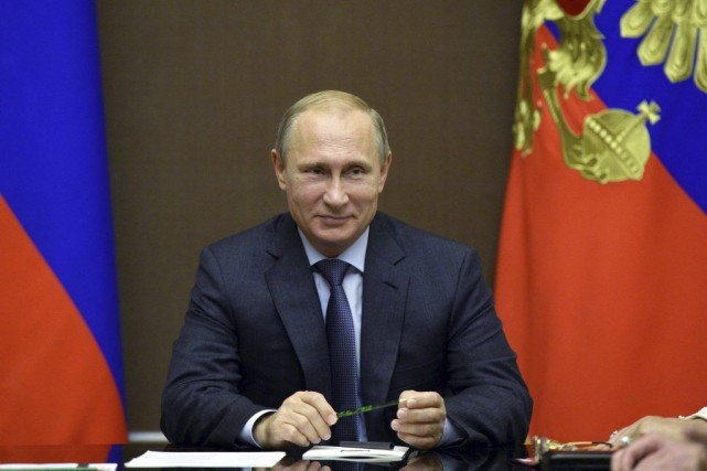 L'annonce du retrait des troupes russes par le... (PHOTO ALEKSEY NIKOLSKYI, AFP)