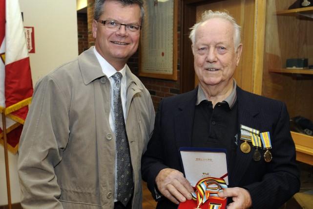 Les vétérans honorés par la Corée au CANADA 917346-bruno-cormier-pere-julien-age