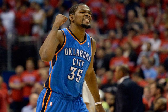 Kevin Durant... (Photo Richard Mackson, archives USA Today)