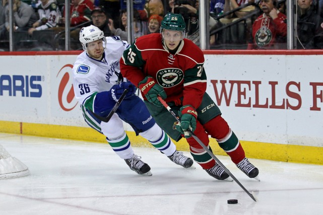 Jonas Brodin (25) dispute sa troisième saison avec le... (PHOTO ARCHIVES USA TODAY)