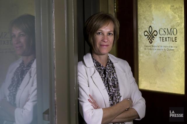 Danielle Jutras, directrice générale par intérim du Comité... (Photo Ivanoh Demers, La Presse)