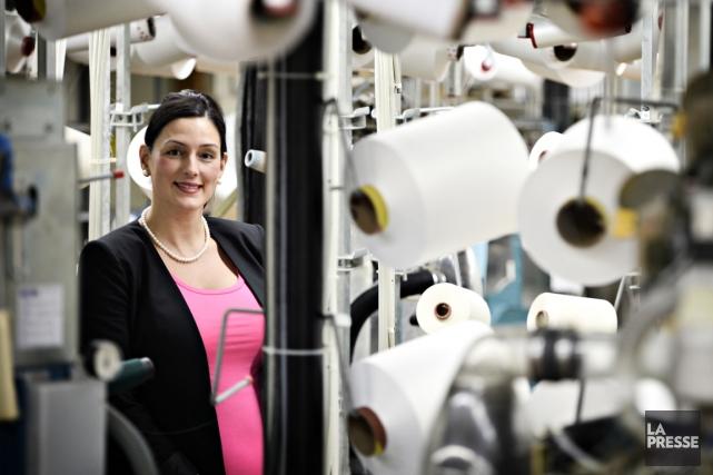 Annabelle Ouellette, directrice de production chez Mondor, à... (Photo Bernard Brault, La Presse)