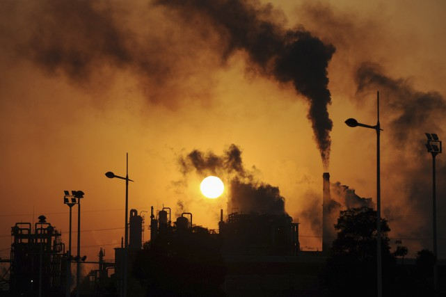 «Sur le changement climatique, 90% des démocrates sont... (Photo archives Reuters)