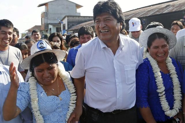 Arrivé au pouvoir en 2006 avec 54% des... (Photo Juan Karita, AP)