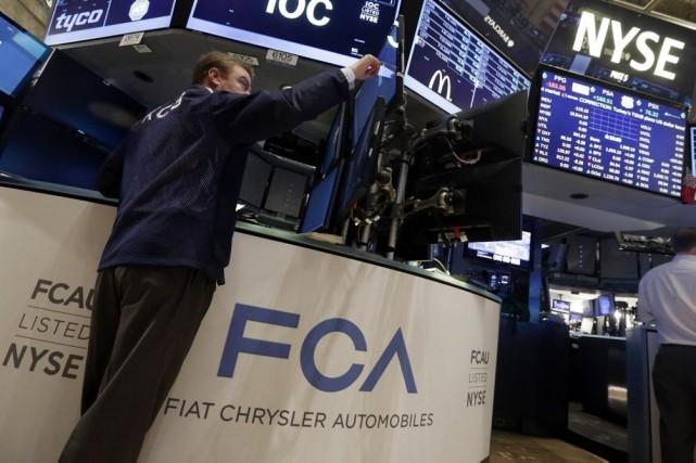Pour la société, cette arrivée à Wall Street... (Photo Richard Drew, AP)