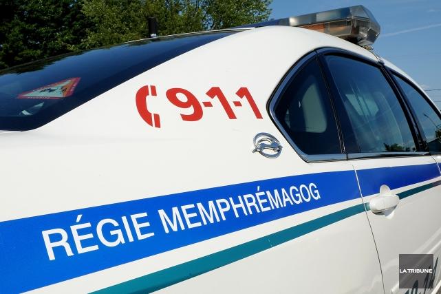 Trois conducteurs ont été arrêtés à Magog pendant la fin de semaine de l'Action... (Archives La Tribune)