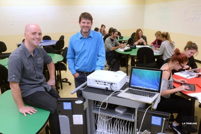 Conseiller pédagogique en TIC au Cégep de Sherbrooke,... (IMACOM, Maxime Picard)