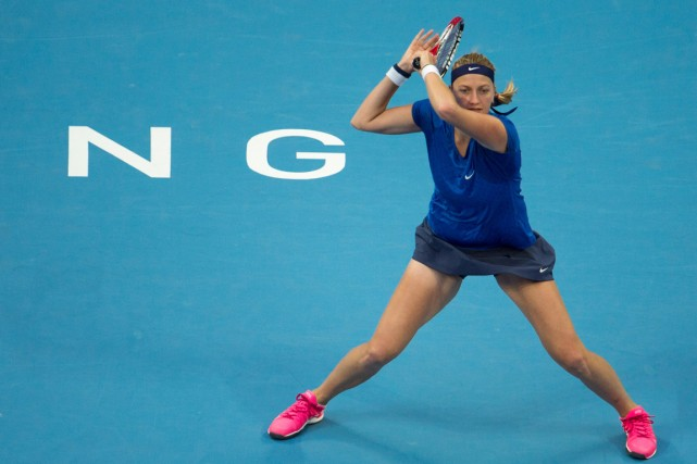 Petra Kvitova... (PHOTO FRED DUFOUR, Agence France-Presse)