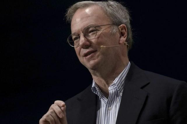 Le patron de Google, Eric Schmidt.... (PHOTO DANI POZO, AFP)