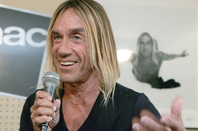 Iggy Pop... (Photo: Archives AP)