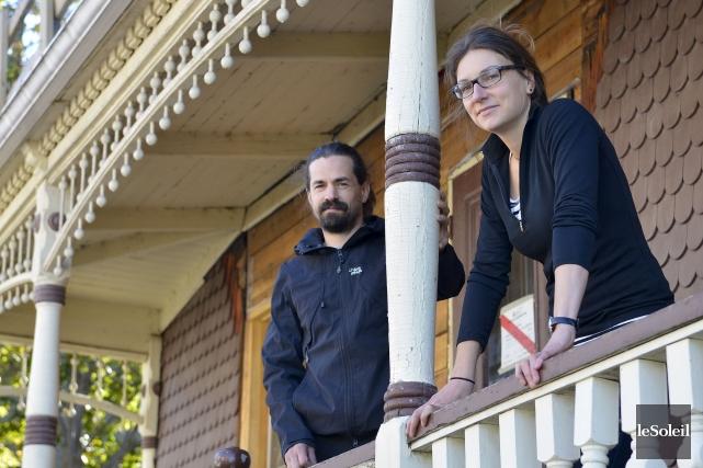 Dominic Duquette et Valérie Riverin jugent inacceptable que... (Le Soleil, Yan Doublet)