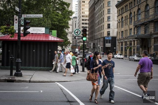 Dès 2016, la Ville de Montréal éventrera la... (PHOTO OLIVIER PONTBRIAND, ARCHIVES LA PRESSE)