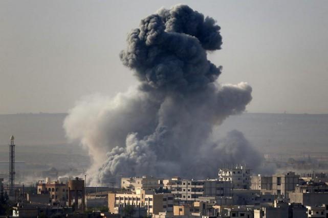 En Syrie, «là où nous trouverons de nouvelles... (PHOTO UMIT BEKTAS, ARCHIVES REUTERS)