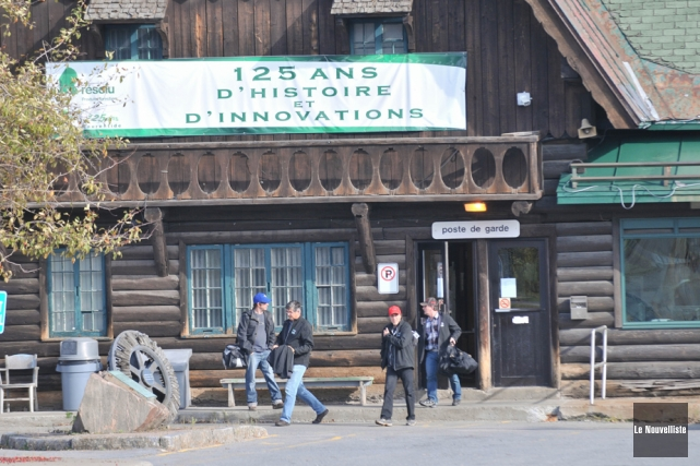 L'usine Laurentide a été la cible de voleurs... (Photo: Émilie O'Connor, Le Nouvelliste)