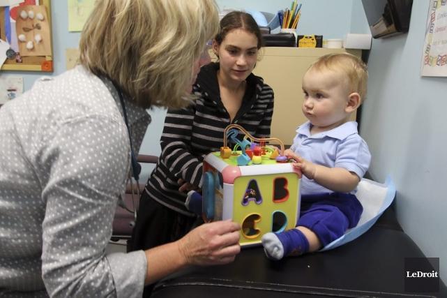 À la clinique de pédiatrie sociale de la... (Patrick Woodbury, LeDroit)