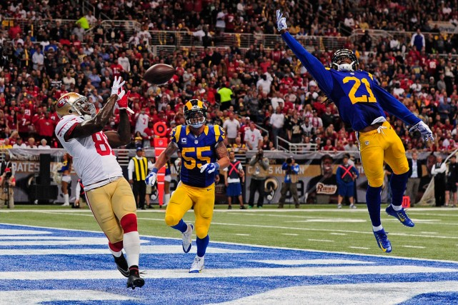 Anquan Boldin (81), des 49ers, a échappé à... (Photo Jeff Curry, USA Today Sports)