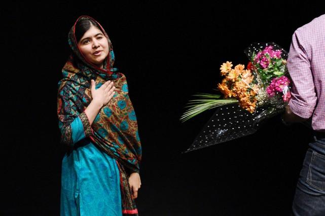 La jeune militante pakistanaise Malala Yousafzai est la... (PHOTO OLI SCARFF, ARCHIVES AFP)