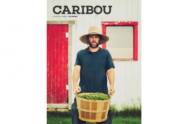 La Presse vous dévoile la page couverture du tout nouveau magazine... (Photo fournie par Caribou)