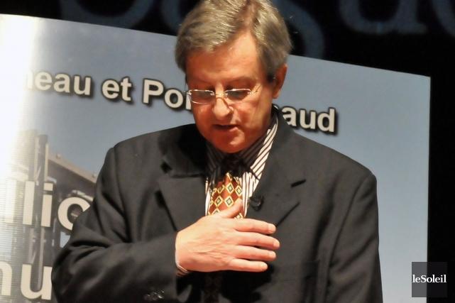 Le maire de Saguenay Jean Tremblay... (Photothèque Le Soleil)