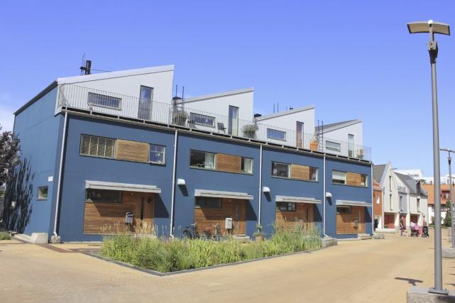 L'écoquartier Bo01 à Malmö, en Suède, est une... (Photo fournie par Avi Friedman)