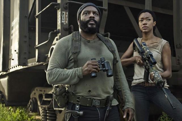 Chad Coleman joue le rôle Tyreese, alors que... (Photo Frank Ockenfels, AMC/PC)