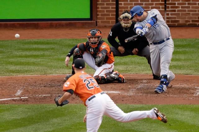 Les deux premiers matchs de la série de... (Photo Charlie Riedel, AP)