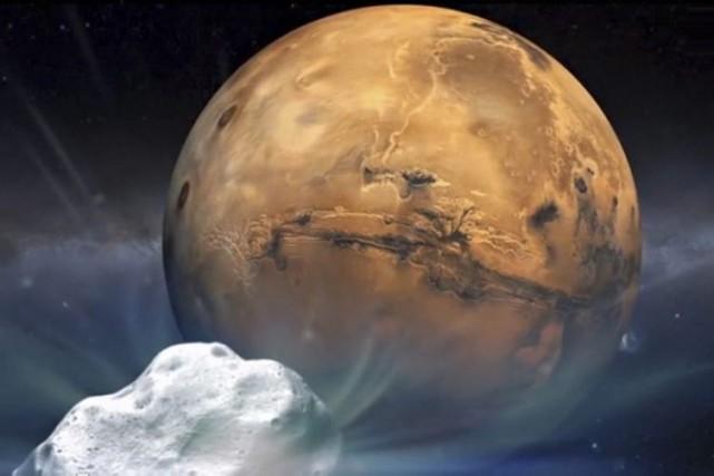 Le projet Mars One a pour but d'envoyer... (Illustration NASA)