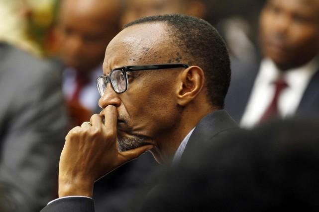 Le président Kagame accuse la BBC d'avoir «choisi... (PHOTO THOMAS MUKOYA, ARCHIVES AP)