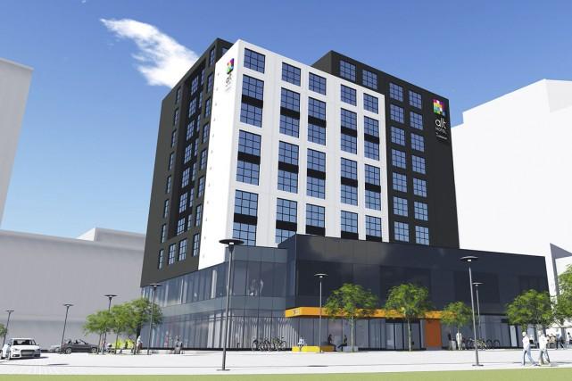 L'hôtel Alt Calgary sera un immeuble utramoderne de... (Illustration fournie par le groupe Germain Hospitalité)