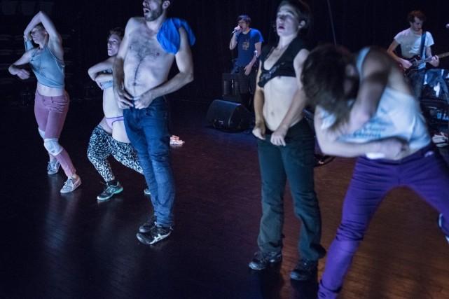 Frédérick Gravel donnera ce soir au Théâtre de la Bastille la première d'une... (Photo Denis Farley, fournie par le GroupedArtGravelArtGroup)
