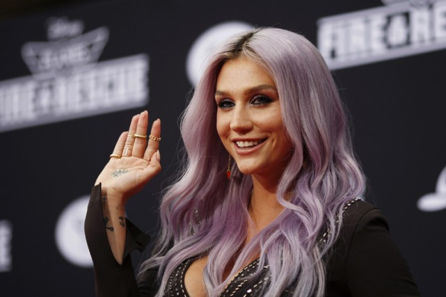 Kesha... (Photo: Reuters)