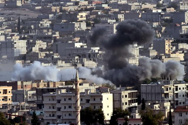 Après plus d'une dizaine de jours de raids... (Photo: AFP)