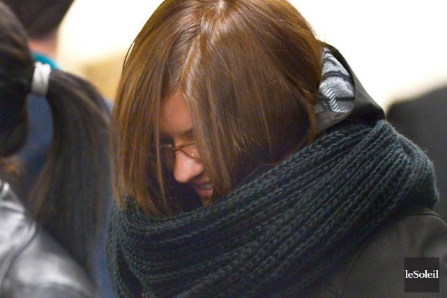 Cynthia Gaulin, 23 ans, avait été impliquée dans... (Photothèque Le Soleil, Yan Doublet)