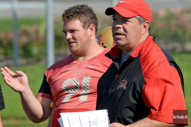 L'entraîneur-chef Glen Constantin pourra compter sur les services... (Photothèque Le Soleil, Erick Labbé)