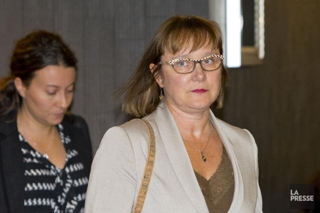 La biologiste judiciaire Jacinthe Prévost est arrivée à... (PHOTO ALAIN ROBERGE, LA PRESSE)