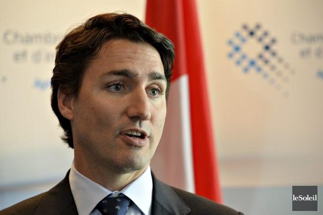 Justin Trudeau... (PHOTO PATRICE LAROCHE, LE SOLEIL)