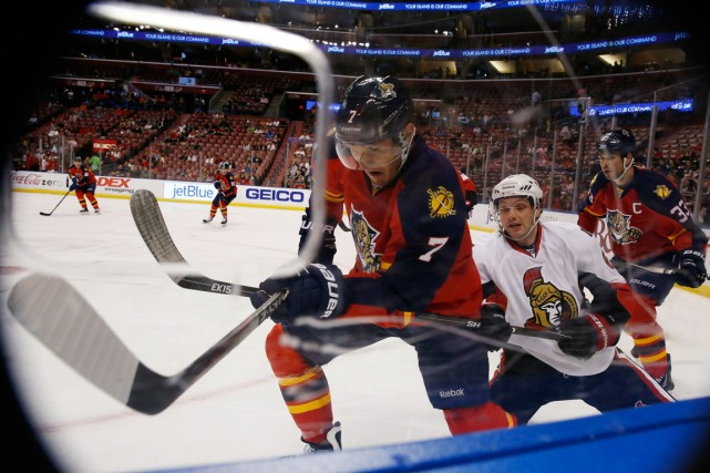 Les Panthers ont annoncé avoir vendu 7311 billets... (Photo Robert Mayer, USA Today Sports)