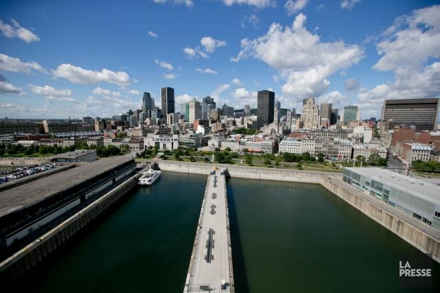 Le Vieux-Port de Montréal sera le théâtre d'une... (Photo David Boily, archives La Presse)