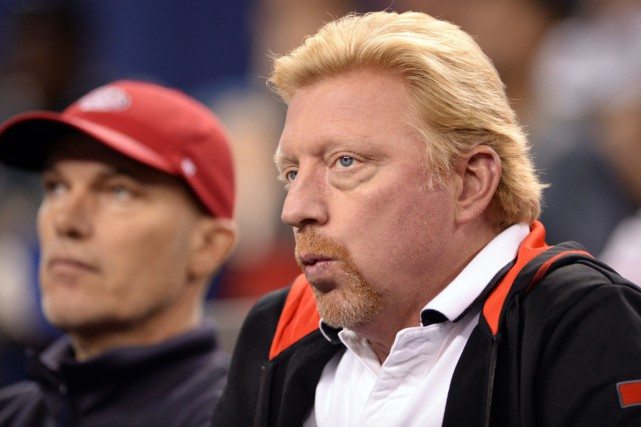 Boris Becker... (Photo Johannes Eisele, AFP)