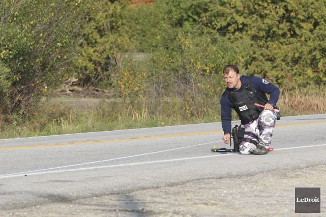 Le deuxième conducteur impliqué dans la collision ayant coûté la vie à... (Patrick Woodbury, LeDroit)