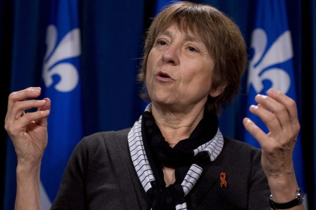 Françoise David... (PHOTO JACQUES BOISSINOT, ARCHIVES LA PRESSE CANADIENNE)