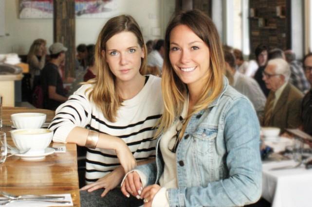 Les deux entrepreneures derrière Estelle & Lucille, Marianne... (Photo fournie par Estelle & Lucille)