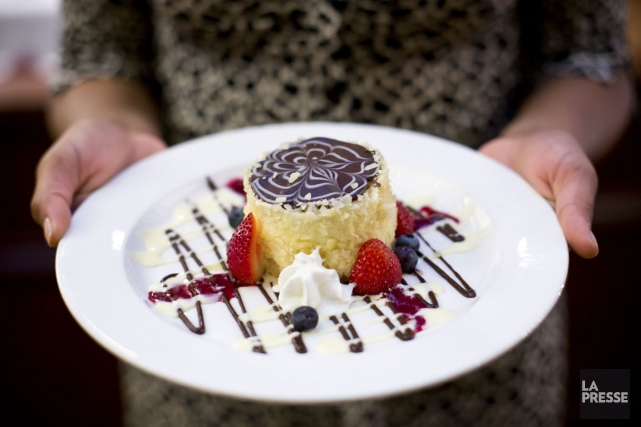 La Boston cream pie a été créée en... (PHOTO SARAH MONGEAU-BIRKETT, LA PRESSE)