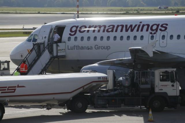 Germanwings a précisé dans un communiqué qu'elle assurerait... (PHOTO WOLFGANG RATTAY, REUTERS)