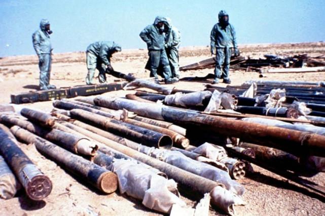 Les armes avaient été fabriquées avant 1991 et... (Archives AP)