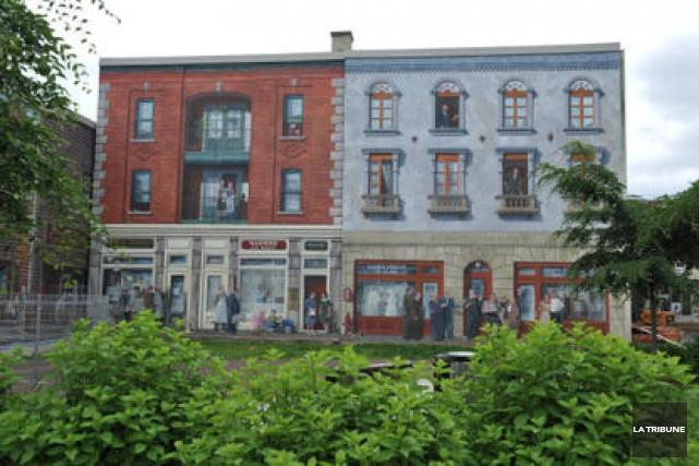 Les murales relèveront désormais entièrement de Destination Sherbrooke. C'est... (Archives La Tribune)