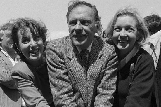 Bernadette Lafont,Jean-Louis Trintignant et Marie Dubois (à droite)... (Photo: archives AFP)