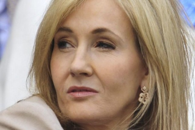J.K. Rowling... (Photo: archives AFP)