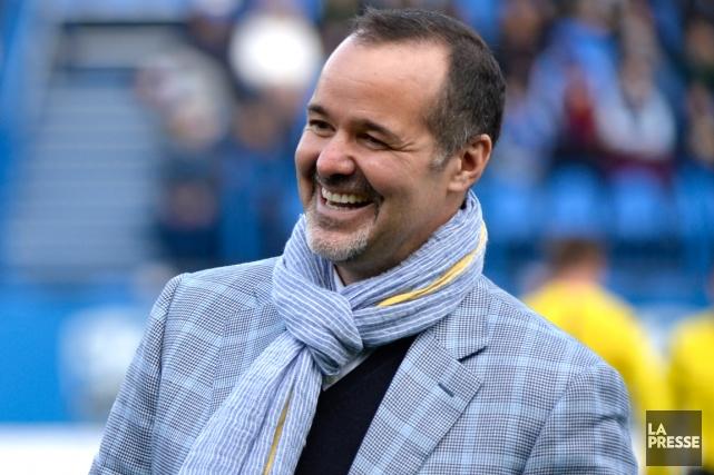 Le propriétaire de l'Impact de Montréal, Joey Saputo.... (Photos Bernard Brault, La Presse)